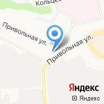 Башмачок на карте Белгорода