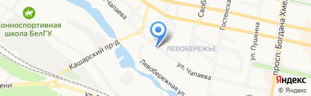 ГеоАрхитект на карте Белгорода