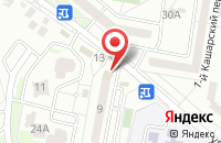 Схема проезда до компании Кристалл в Белгороде