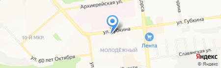 Urban на карте Белгорода