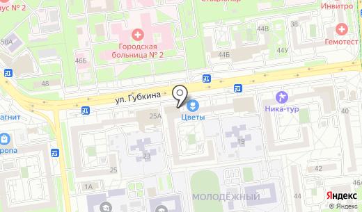 Urban. Схема проезда в Белгороде