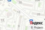 Схема проезда до компании Психологический кабинет Марины Калашниковой в Белгороде