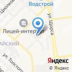Мастерская на карте Белгорода