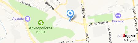 Федерация кинологии и фелинологии на карте Белгорода