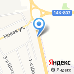 Малярно-кузовной центр на карте Белгорода