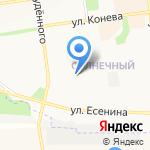 Фрейя на карте Белгорода