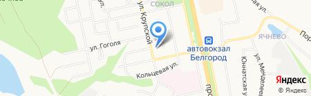 Детский сад №34 на карте Белгорода