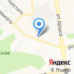 Часовня в честь святого равноапостольного князя Владимира на карте Белгорода
