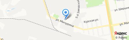 Авто-Шанс на карте Белгорода