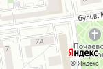 Схема проезда до компании Шарм в Белгороде