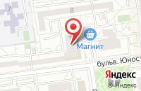 Схема проезда до компании ДАРЬЯ в Березовке
