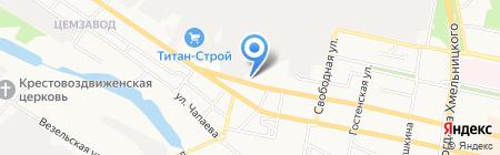 Военный комиссариат Западного округа г. Белгорода на карте Белгорода