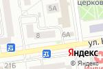 Схема проезда до компании Классика в Белгороде