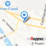 Гудвин на карте Белгорода