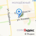 Тип Топ на карте Белгорода