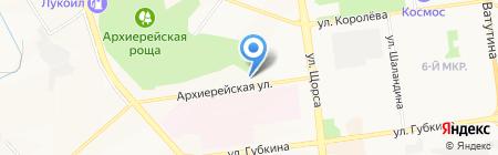 Профинструмент на карте Белгорода