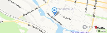 Мастер Фуд Белгород на карте Белгорода