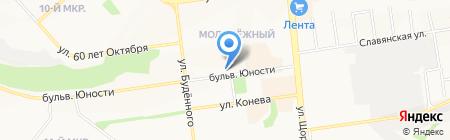 АктивДеньги на карте Белгорода