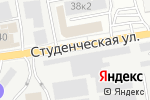 Схема проезда до компании Контрольный Выстрел в Белгороде