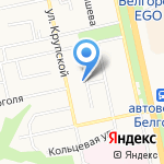 Детский сад №80 на карте Белгорода