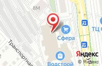 Схема проезда до компании В ТРЕНДЕ в Белгороде