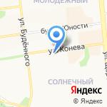 Микроденьги на карте Белгорода