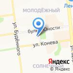 Классик Стайл на карте Белгорода