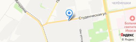 Барилант на карте Белгорода