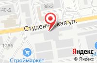 Схема проезда до компании МегаВольт в Белгороде