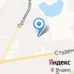 Эталон-Мебель на карте Белгорода