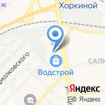 Фортуна на карте Белгорода