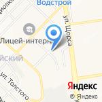 Монтажторгстрой на карте Белгорода