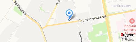 Каразинъ на карте Белгорода