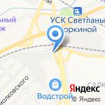 СЭТ на карте Белгорода