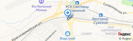 Адвокатский кабинет Беспалова С.Г. на карте Белгорода