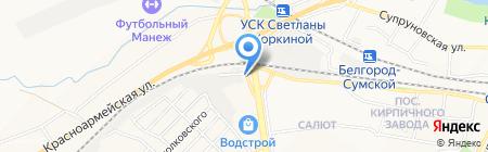 Теплотехника на карте Белгорода