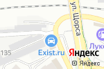 Схема проезда до компании КранВираСервис в Белгороде