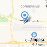 Саньера на карте Белгорода