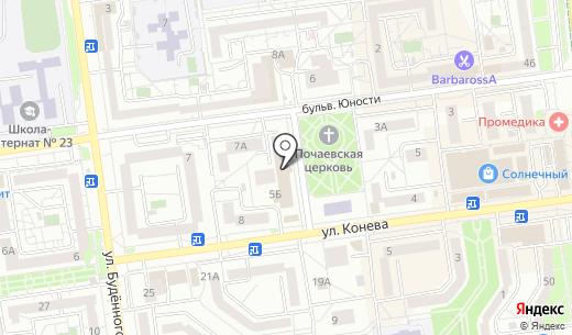 Технофарм. Схема проезда в Белгороде