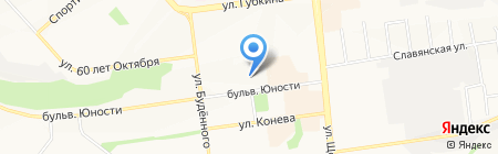 Распродажа на карте Белгорода