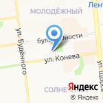 Бинбанк на карте Белгорода