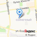 Зеленая Точка Белгород на карте Белгорода