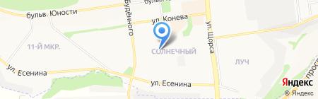 Влата на карте Белгорода