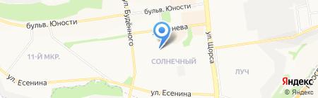 Академия танца на карте Белгорода