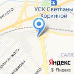 Випп на карте Белгорода