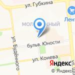 Каблучок на карте Белгорода