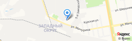 Чистый воздух на карте Белгорода