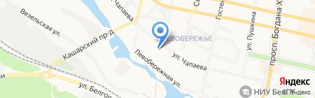 Детский сад №86 на карте Белгорода