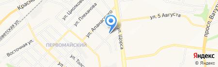 Таблеточка на карте Белгорода