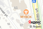 Схема проезда до компании СпортКласс в Белгороде